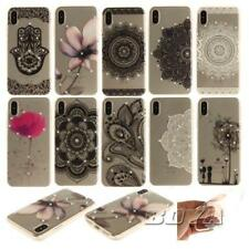 For iPhone X Jewelled soft TPU phone case protective skin ultra clear rubber gel