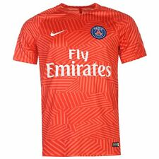 Nike Paris Saint Germain Pre Match Training Jersey Mens Pink Football Soccer Top