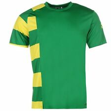 adidas Nado 16 Training Jersey Mens Green/yel Football Soccer Top T-Shirt Tee