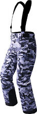 FXR Youth Grey Urban Camo Squadron Insulated Snowmobile Pants Snow