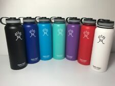 32oz/40oz Hydro Flask Wide Mouth Flasks Insulated Stainless Steel Water Bottle