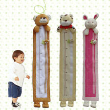Baby Kids Rabbit Tiger Height Growth Chart Coat Girls Boys Nursery Bedroom