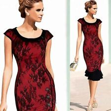 Women Peter Pan Collar Vintage Style Button Decorated Short Sleeve Dress
