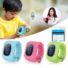 Q50 Anti-lost Girls Boys Touch GPS LBS Smart Watch Tracker Wrist SOS Calling 2G