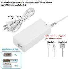 New  60W 85W AC Charger Power Supply Adapter Apple MacBook Pro1&2 13 15 18 inch