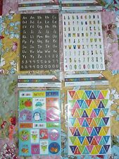 ALPHABET STICKERS OR REWARD STICKERS - FOR TARGET - YOUR CHOICE