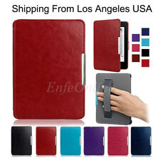 Slim Thin Magnetic Leather Smart Case Cover For Amazon Kindle Paperwhite 1 2 3