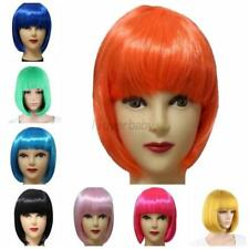 Sexy Women's Fashion Full Bangs Wig Short Wig Straight Cosplay Party BOB Hair