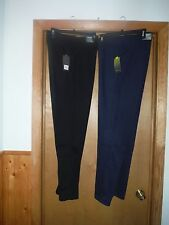 Soft Sweatpants Tek Gear size LG,MD color Black and Dark Navy Blue NWT