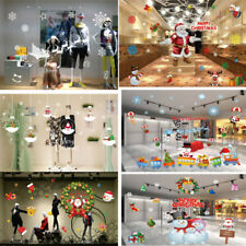 Christmas Sticker Home Window Glass Wall Decals Restaurant Hotel Decoration New