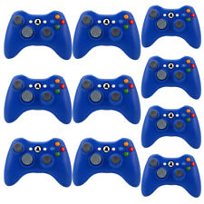 10PCS Official Microsoft Xbox 360 Wireless Controller Gamepad Blue - BRAND NEW P
