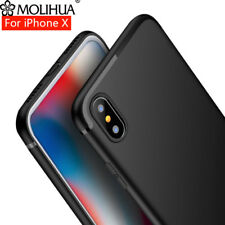 MOLIHUA For iPhone X 10 Case Luxurious Ultra Thin Soft Silicone TPU Cover Case