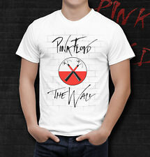 Pink Floyd The Wall Hammers White Men Printed T-shirt