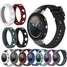 Silicone Wrist Strap Band +Protector Case Cover for ASUS ZenWatch 3 Smart Watch