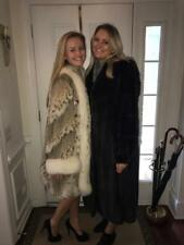Spotted Cat Lynx and Mink Fur Coat sold together or seperately