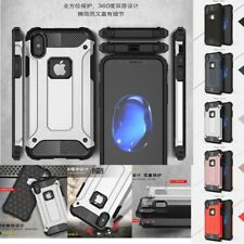 For Apple iPhone X Case Cover Protective Hybrid Armor Hard Back + Silicone inner