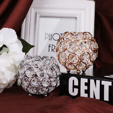 Crystal Wedding Party Event Table Tealight Votive Candle Holder Candlestick PICK