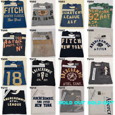ABERCROMBIE & FITCH MENS CLASSIC GRAPHIC TEE MULTI COLOR SIZE MEDIUM A&F