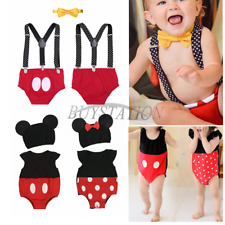Cute Infant Baby Boy Girl Christmas Party Romper Jumpsuit Costume Outfit Clothes