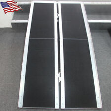 New 3/5' & 6' ft Aluminum Multifold Wheelchair Scooter Mobility Ramp Portable