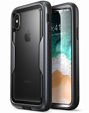 iPhone X Case Heavy Duty Full body Bumper w/ Built-in Screen Protector Cover New