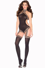 Halter Suspender Bodystockings by Be Wicked