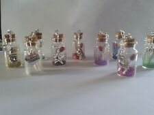 Personalised Christmas Charm Bottle - Ideal Gift/Keepsake for that Special Day