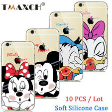 For iphone 5 5s 6s 7 8 plus  Wholesale Disney Cartoon Mickey Soft Silicone Case