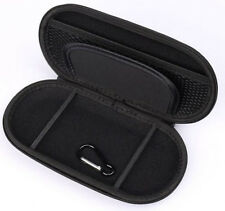 Black PU&Nylon Travel Pouch EVA Case Carrying Bag For Sony PS Vita PSV PSP