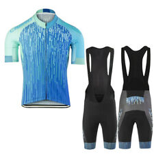Mens Sports Cycling Wear Bike Short Sleeve Clothing Set Jersey Bib Shorts Suits