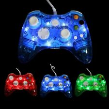 Lot 1/2 For Microsoft Xbox 360/360 Slim/PC USB Wired Remote Controller Gamepad