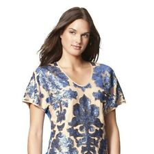 New NWT Tracy Reese Sequin Top Blouse Xs S M L