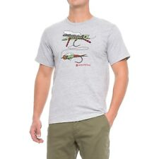 Redington Hopper Dropper Fly Fishing T Shirt - Color Grey - Choose Size - NEW!