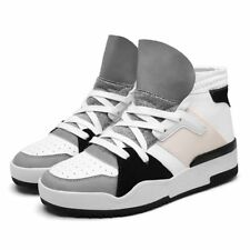 New Fashion Men High Top Shoes Sneaker Casual Shoelace Outdoor Sport Athletic Sz