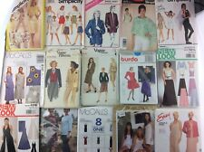 Misses Ladies Women Plus Sewing Patterns Uncut Top Pants Dress U PICK