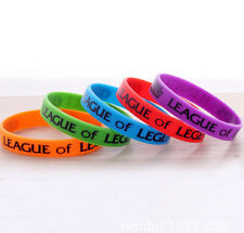 1pcs LOL League of Legends ADC Jungle Support Top Mid Dota Silicone Wristband J2