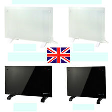 Panel Heater Radiator Electric Heat Glass Portable Free Standing Wall Mounted