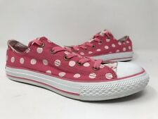 New! Girls Youth Converse All Star CT Double Tongue OX Shoes  - SIZE 3 Pink N13