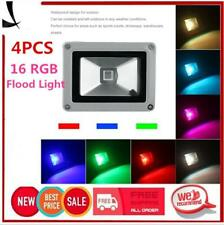 Waterproof 10W RGB LED Outdoor 16 Color Changing Flood Spot light Garden Lamp OX
