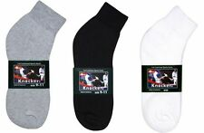 4~12 Pairs Mens Knocker Sport Cotton Ankle Socks Athletic Solid Size 9-11 10-13