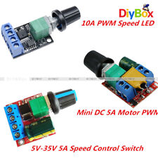 Mini 5A/10A Motor PWM Speed Controller 3V/4.5V-35V Control Switch LED Dimmer D