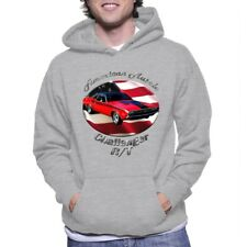 Dodge Challenger R/T American Muscle Adult Hoody