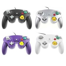 For GameCube NGC GC Wii Controller Dual analog Wired Shock Game Pad Nintendo