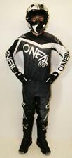 ONEAL 2018 ELEMENT MX COMBO KIT OFFROAD WHITE BLACK JERSEY PANTS SHIRT JEANS