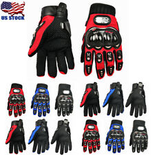 US Full Finger Gloves Racing Riding Motorcycle Motorbike Motocross Cycling Warm