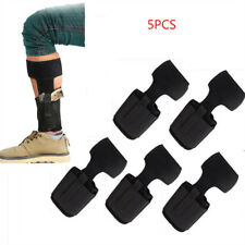 2/5PCS Concealed Carry Ankle Leg Holster For Glock 17 19 22 23 Ruger LCP SIG 9MM