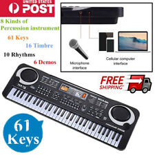2017 61 Keys Children Musical Instrument Electronic Piano Keyboard 16 Timbre ~E