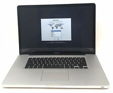 "17"" Mid 2010 Apple MacBook Pro 2.66 GHz Intel i7 500GB 4GB RAM A1297"