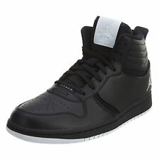 Nike Heritage Black White Mens Hi-top Lace-up Sport Basketball Trainers Sneakers
