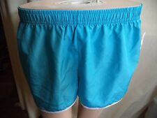 B Sport Womans Exercise Shorts Light Blue or Pink Stretch M or L Polyester NWOT